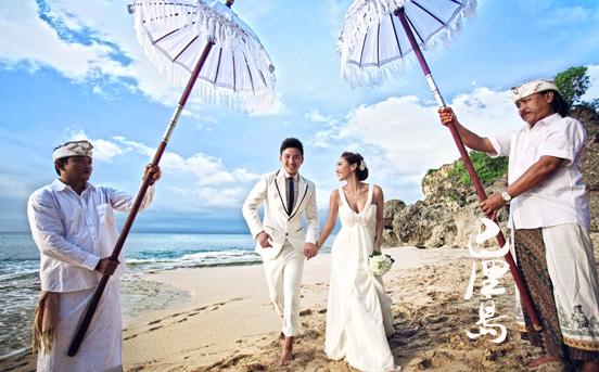 巴厘岛旅行婚纱照